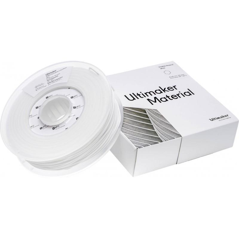 Cuộn sợi nhựa in 3D Ultimaker TPU 95A màu trắng 2