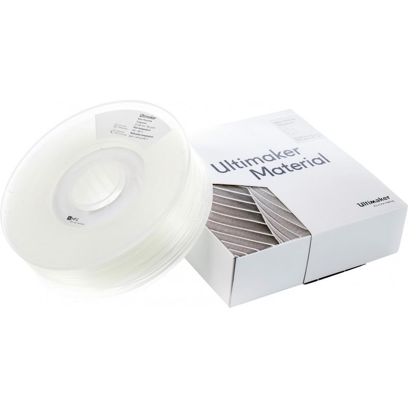 Cuộn sợi nhựa in 3D Ultimaker Nylon màu trong suốt 4