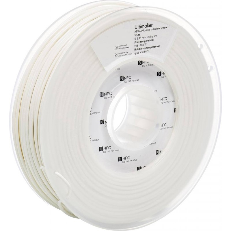 ABS Filament Ultimaker white In3DS 1