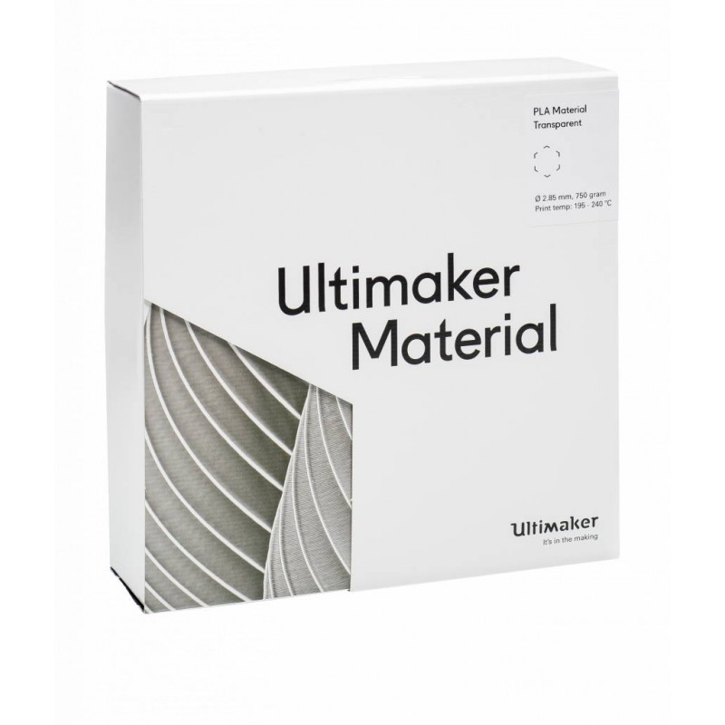 PLA Filament Ultimaker transparent 2