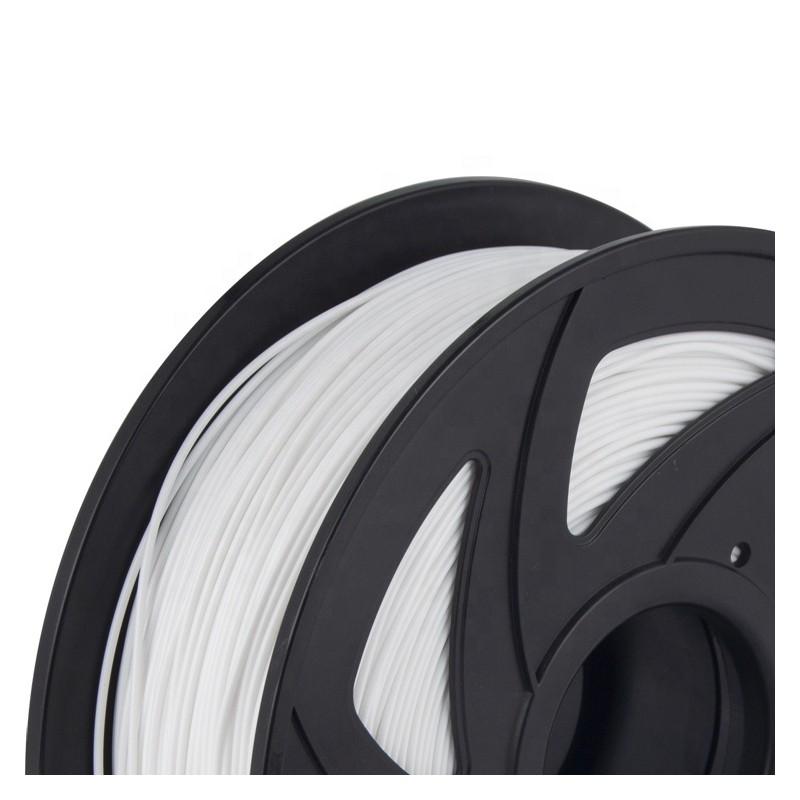Cuộn sợi nhựa in 3D PLA màu trắng 2