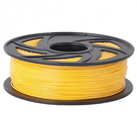 Cuộn sợi nhựa in 3D màu vàng PLA