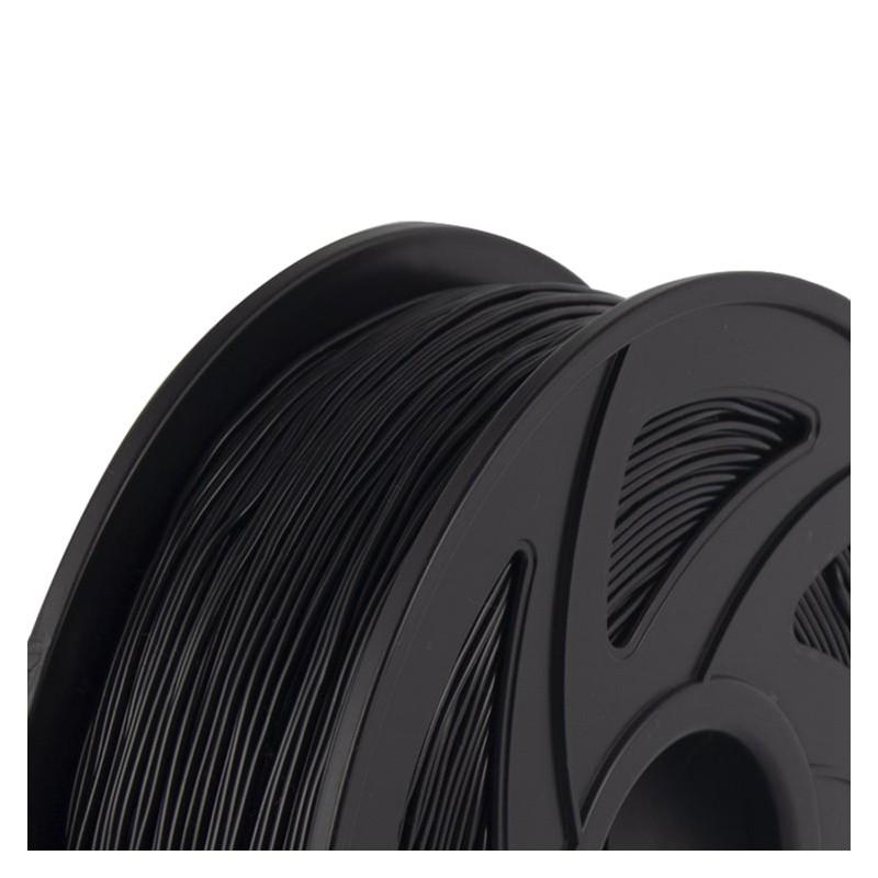 Cuộn sợi nhựa in 3D màu đen PLA 2