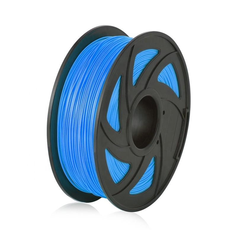Cuộn sợi nhựa in 3D PLA màu xanh 1
