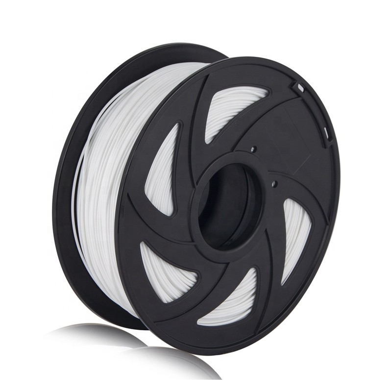 Cuộn sợi nhựa in 3D ABS màu trắng 1