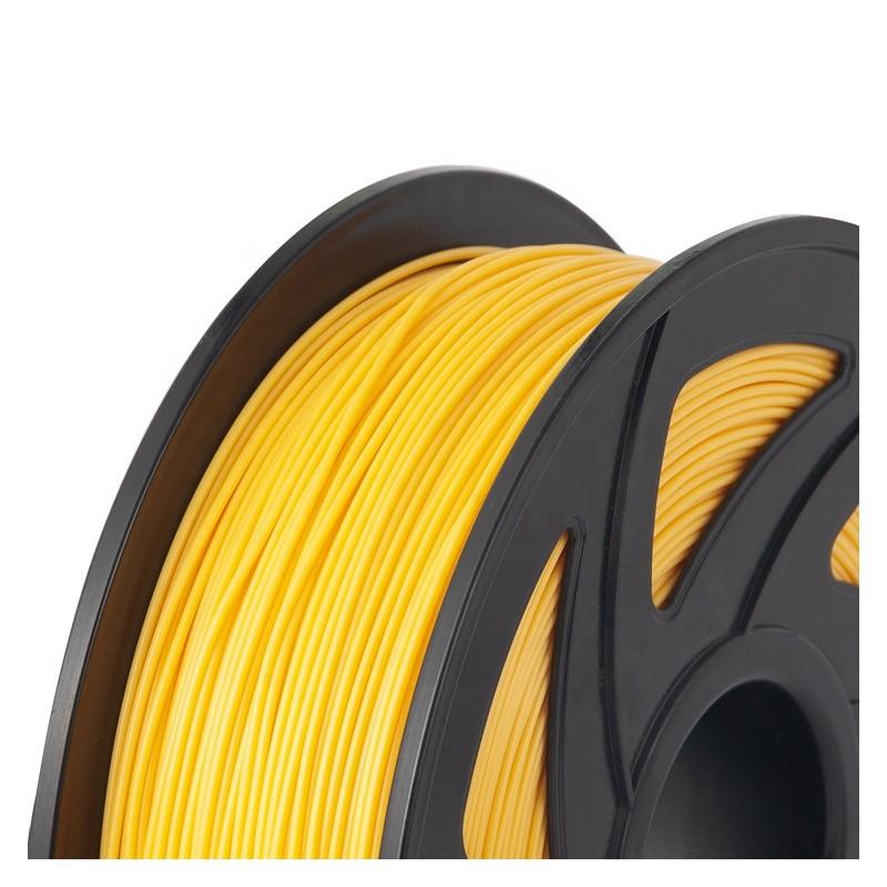 Cuộn sợi nhựa in 3D màu vàng PLA 2