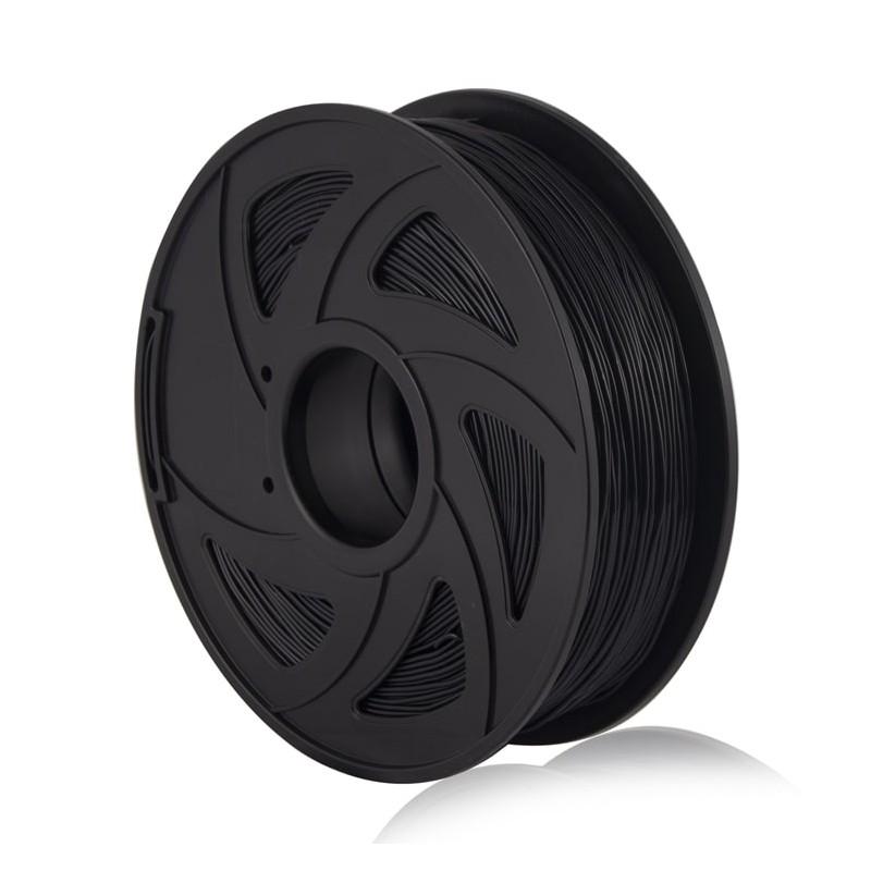 Cuộn sợi nhựa in 3D màu đen PLA 1