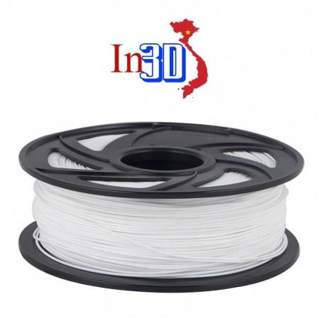 Cuộn sợi nhựa in 3D PLA màu trắng