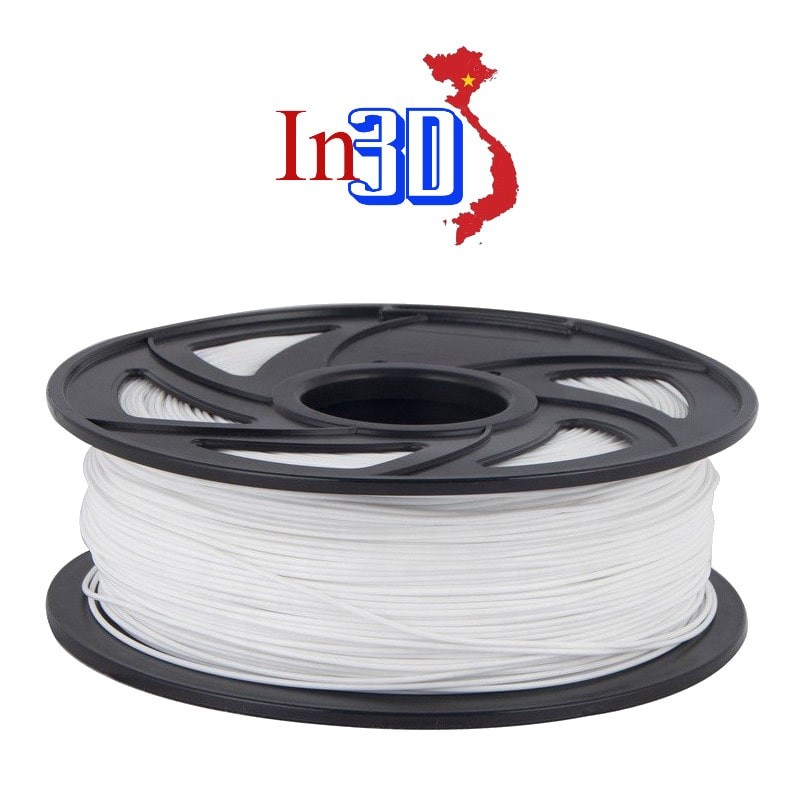 Cuộn sợi nhựa in 3D ABS màu trắng