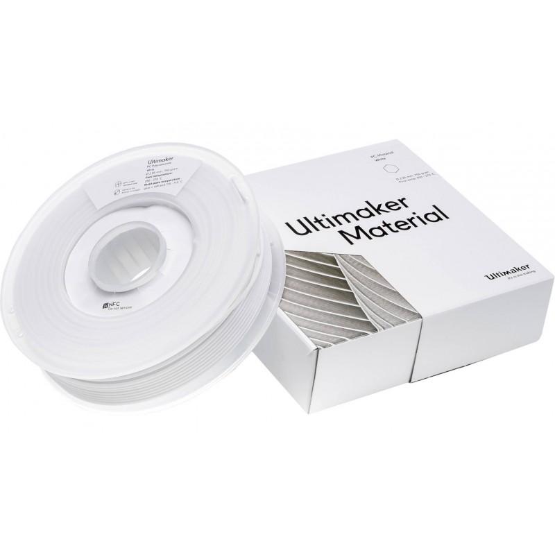 Nhựa in 3D Ultimaker PC màu trắng 2