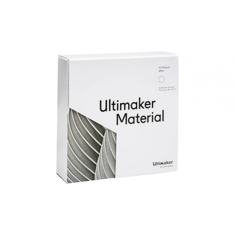 Nhựa in 3D Ultimaker PC màu trắng 4