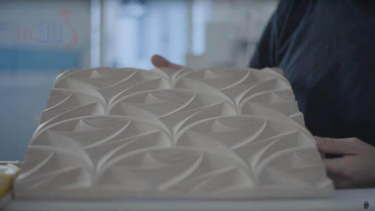 In 3D mô hình kiến trúc - mẫu đá lát