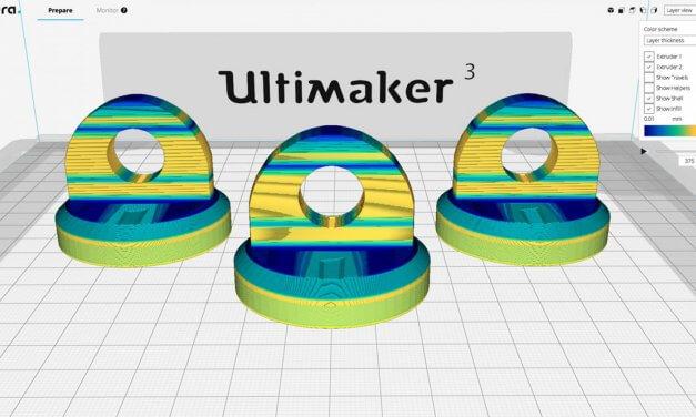Khám phá phần mềm Cura 3.2 in 3D Ultimaker