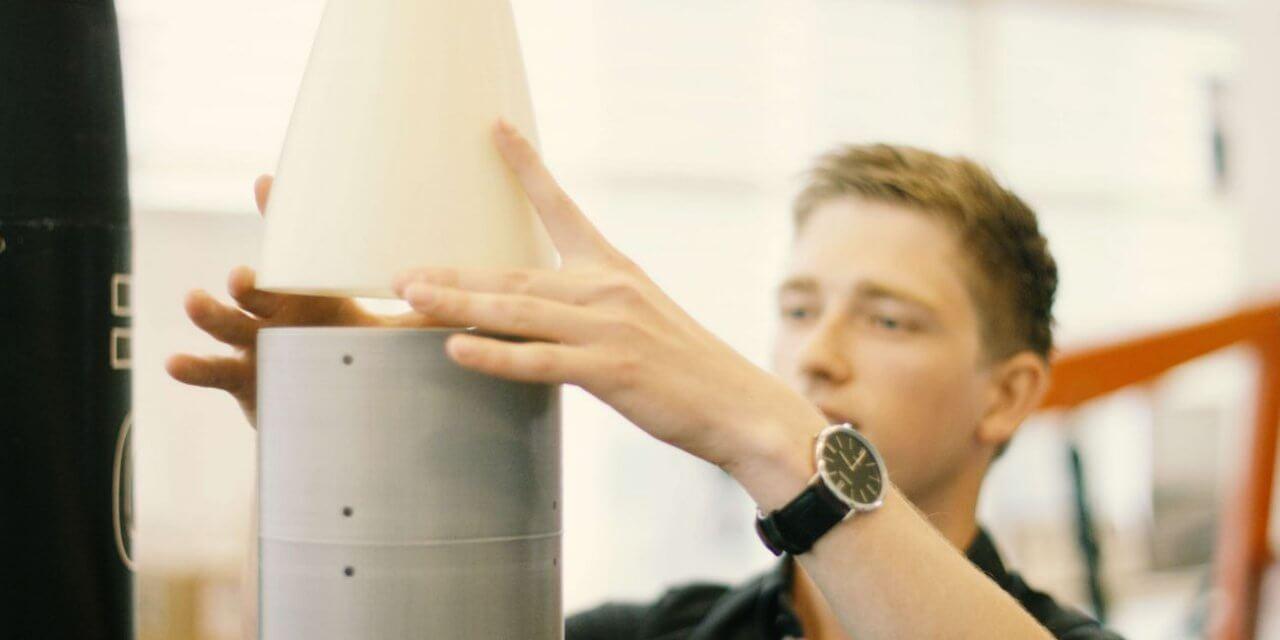 Trường Inholland chế tạo thành công tên lửa nhờ in 3D