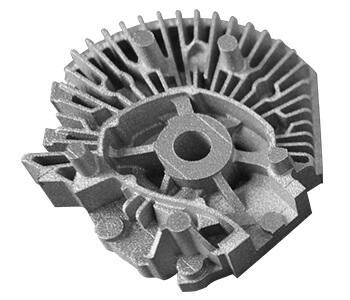 Máy in 3D kim loại EP-M250 SLM bánh răng