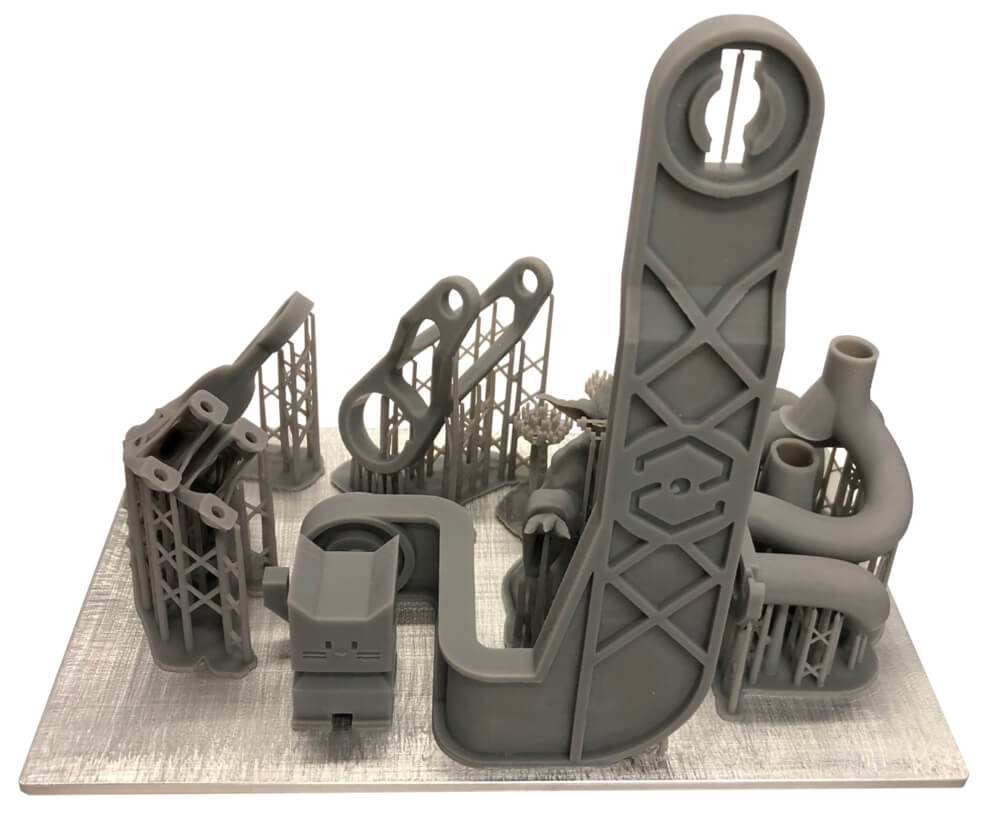 Máy in 3D Resin Sharebot Viking Sample 1