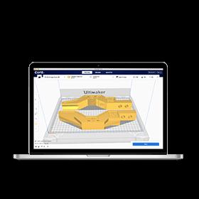 Máy in 3D cao cấp Ultimaker Cura Software