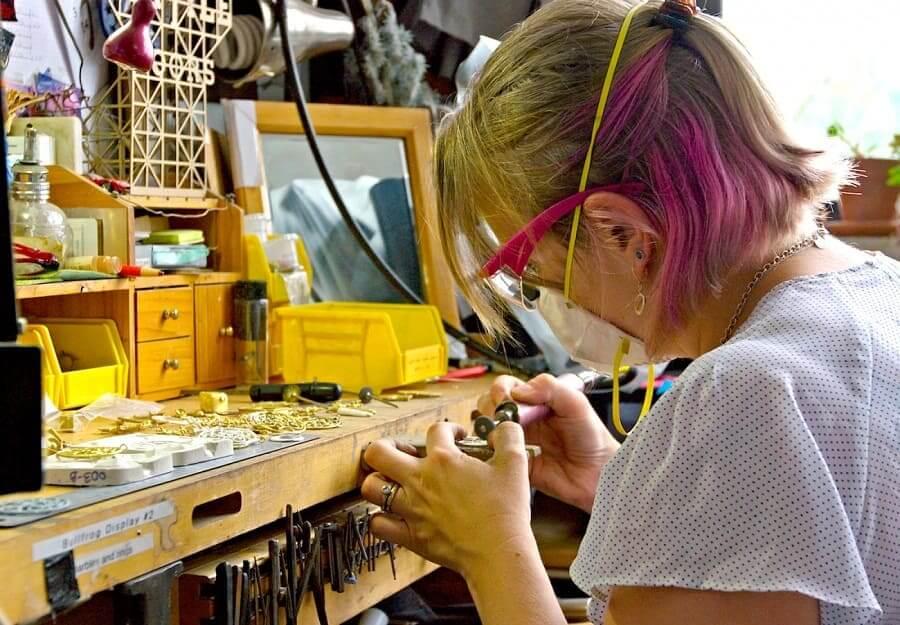 Ứng dụng in 3D cho cửa hàng trang sức